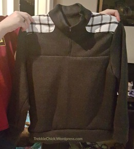 The brother's sweater; front