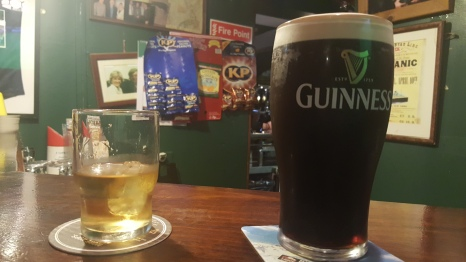 The Guinness was better
