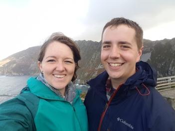 Pre-hike selfie